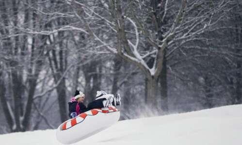 The top snow sledding spots in Cedar Rapids and Iowa…