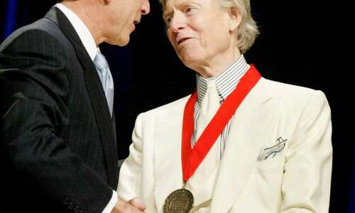Tom Wolfe, author of 'The Right Stuff' and 'Bonfire of…
