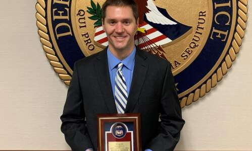 Feds' chief opioid prosecutor in Iowa district receives award for…