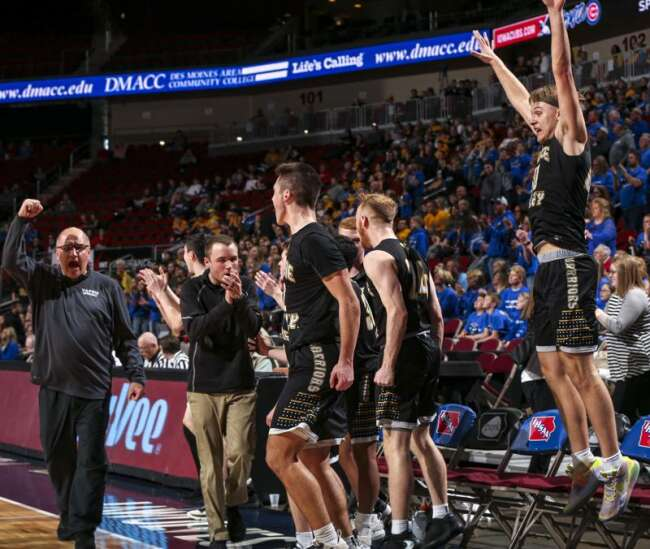 Seeded 4th in its district, Wapsie Valley is playing for a state basketball championship