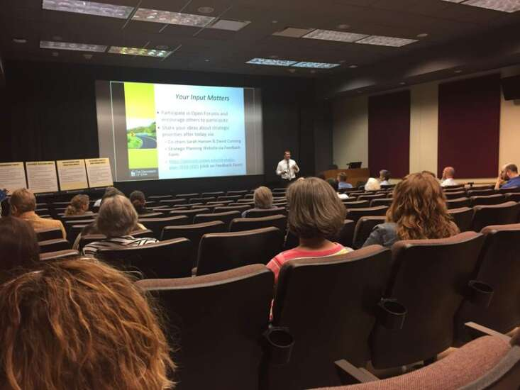 University of Iowa slowing down planning process, citing concerns