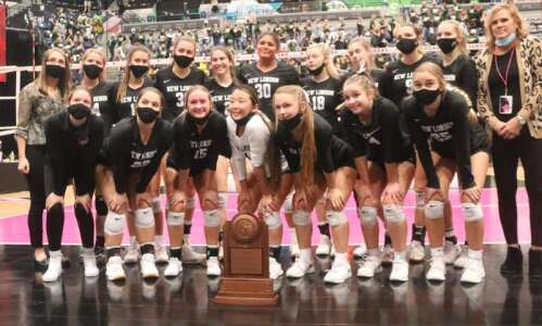 Volleyball pairings released