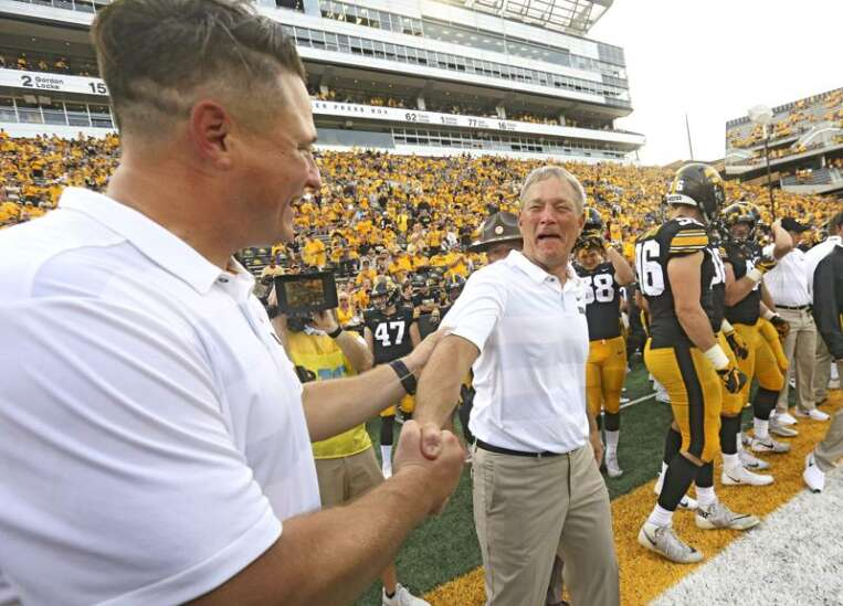 No University of Iowa football coaches took pay cuts amid pandemic, including Ferentz