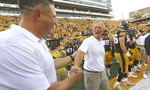 Coaches McCaffery, Bluder, Brands took pandemic pay cuts; not Ferentz