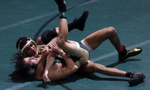 Photos: Dubuque Hempstead vs. Iowa City West, Iowa high school…