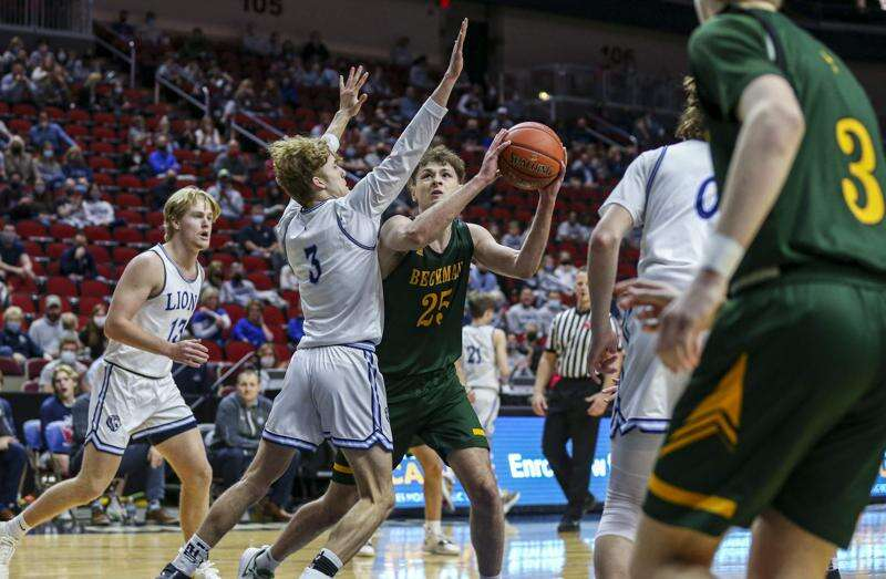 Beckman finds offense hard to come by in boys' state basketball loss to Des Moines Christian