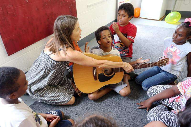 Summer camp in Iowa City held with immigrant children in mind