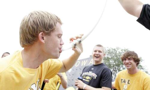 Beer becomes part of the (inner) Kinnick Stadium experience