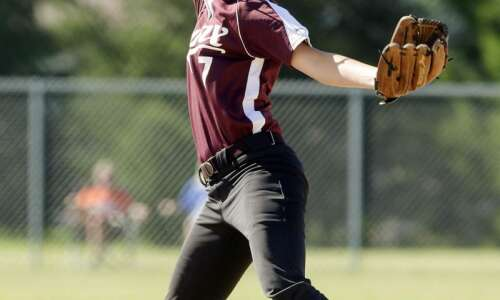 Freshman Abby Flanagan pitches North Linn to brink of first…