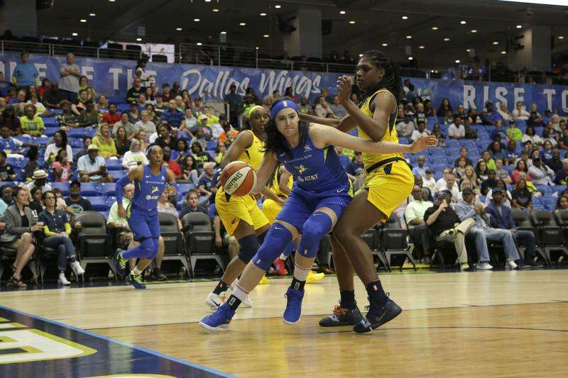 Megan Gustafson enjoying life in the WNBA