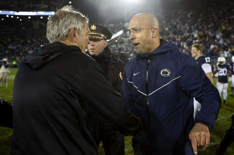Time, TV channel set for Iowa vs. Penn State football