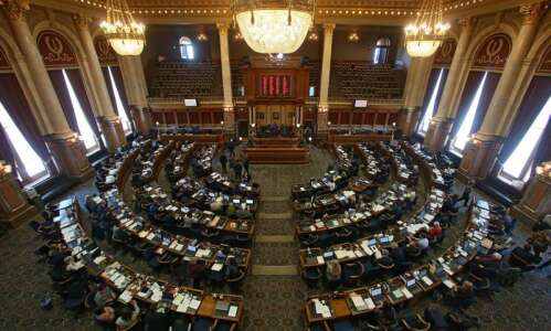 Iowa lawmakers push to beat first deadline