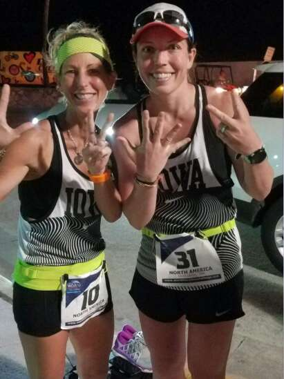 They did it! Eastern Iowa's Deb Carneol, Sarah Lacina run 7 marathons in 7 days