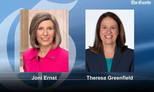 Joni Ernst, Theresa Greenfield tour state as competitive campaign nears…
