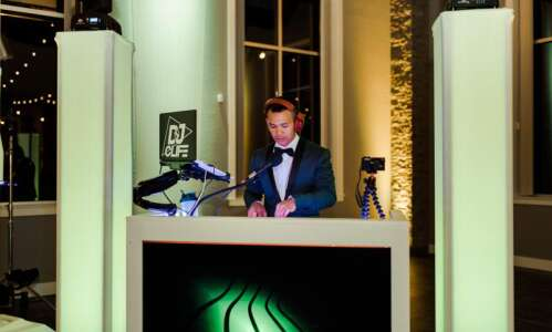 A DJ is hosting a prom for teenagers. Health officials…