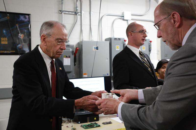 NASA boss: What happens in Iowa won't stay in Iowa