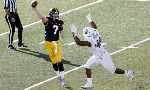 There is a QB competition at Iowa
