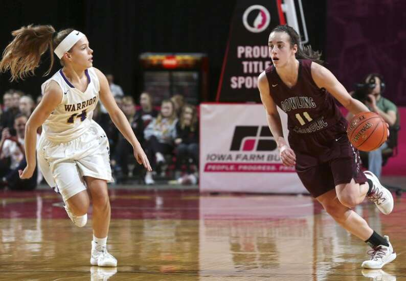 Caitlin Clark ready to take the keys at point guard for Iowa women's basketball