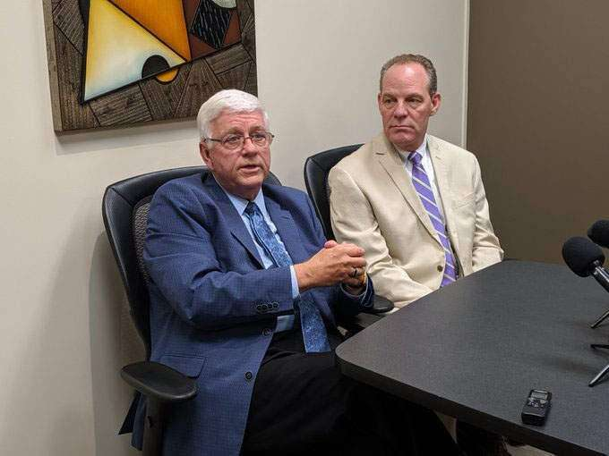 Foxhoven's lawyer interviews for governor-appointed appeals court seat: 'My timing is not very good'
