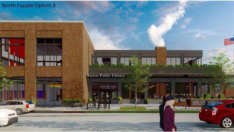 Marion Public Library breaks ground on new location