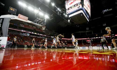 Photos: West Branch vs. Dike-New Hartford, Iowa Class 2A girls'…
