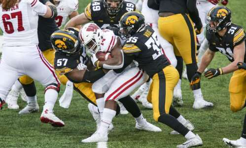 Iowa football notes: Hawkeyes shut down Wisconsin on the ground