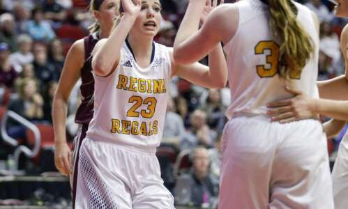 Tuesday's high school basketball roundup: Kennedy Wallace deadly for Regina,…