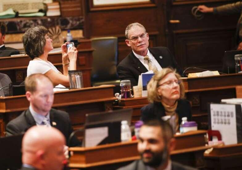 Iowa Republicans compare 'fraudulent sexual orientation' to domestic abuse