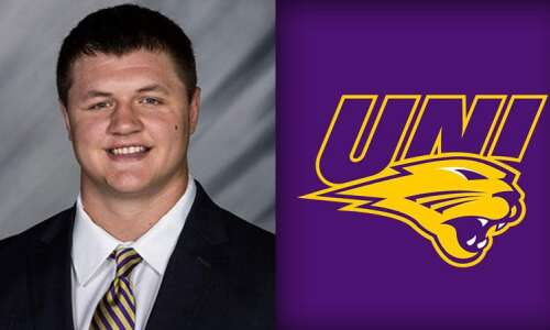 UNI walk-on center Chase Arends taking advantage of opportunity to…