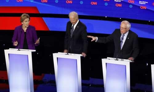 Democratic Debate: Warren, Sanders spar over her claim he said…