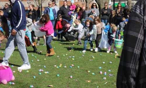 Early Easter egg hunt