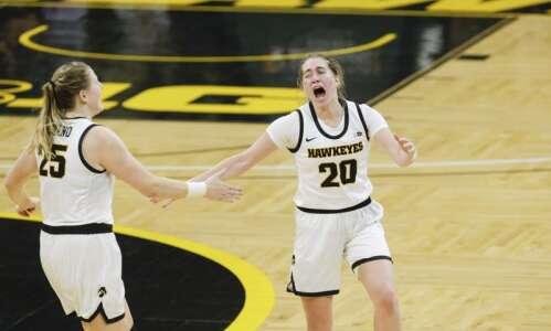 Photos: Iowa women's basketball vs. Rutgers