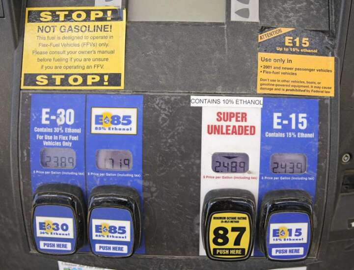 E15 rolling out at more U.S. gas stations