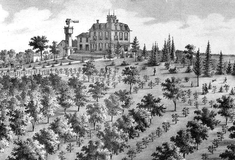 Book documents historic gardens of Iowa