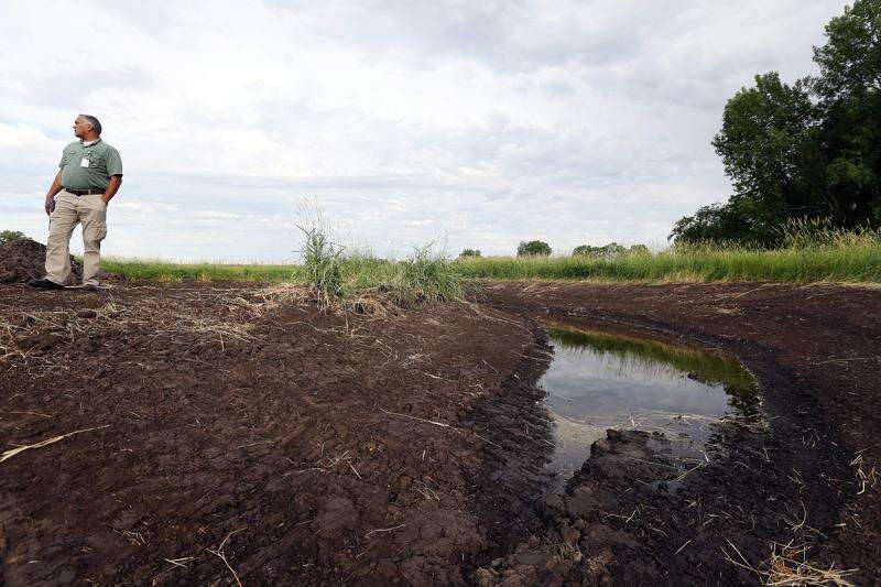 Conservation group partners with others to restore 40 wetlands