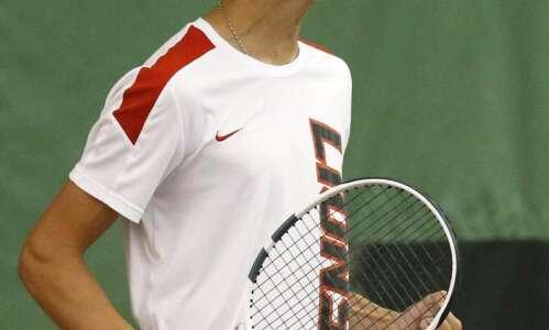 Linn-Mar set to swing for a boys' team tennis state…
