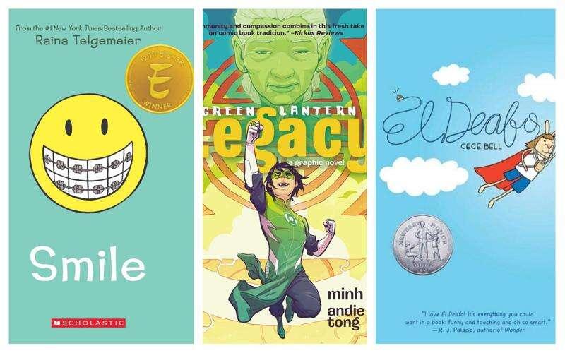 A book list to help children navigate comic bookshelves