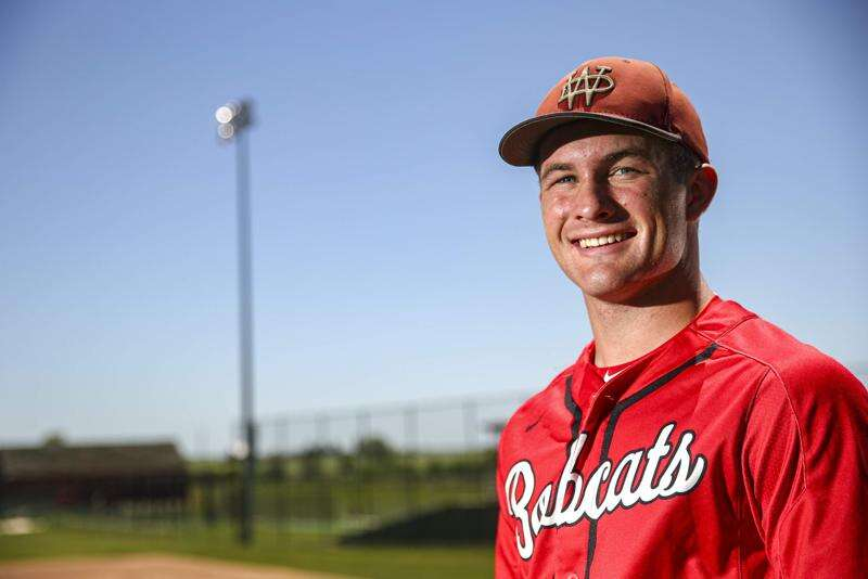 Calvin Harris of Western Dubuque is the 2020 Gazette Male Athlete of the Year