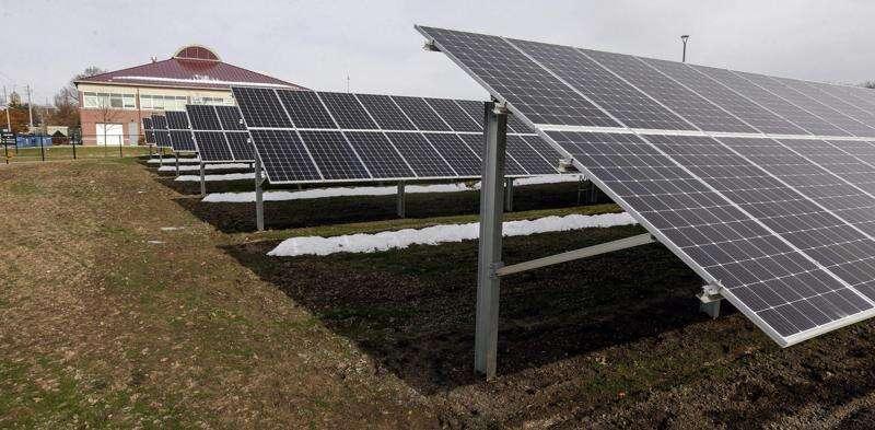 Johnson County wins award for solar arrays