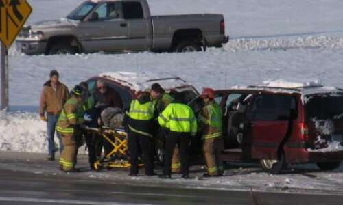 VIDEO: Slow going on Interstate 380 this morning; one hurt…