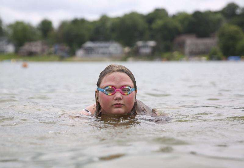 Harmful algae at Lake Macbride causes first-ever swim warning for toxins