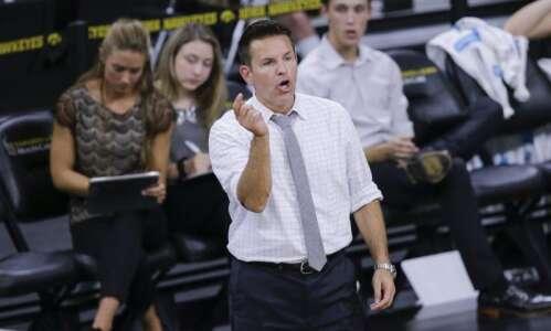 Bond Shymansky paid player's rent, fired Iowa volleyball coach says…