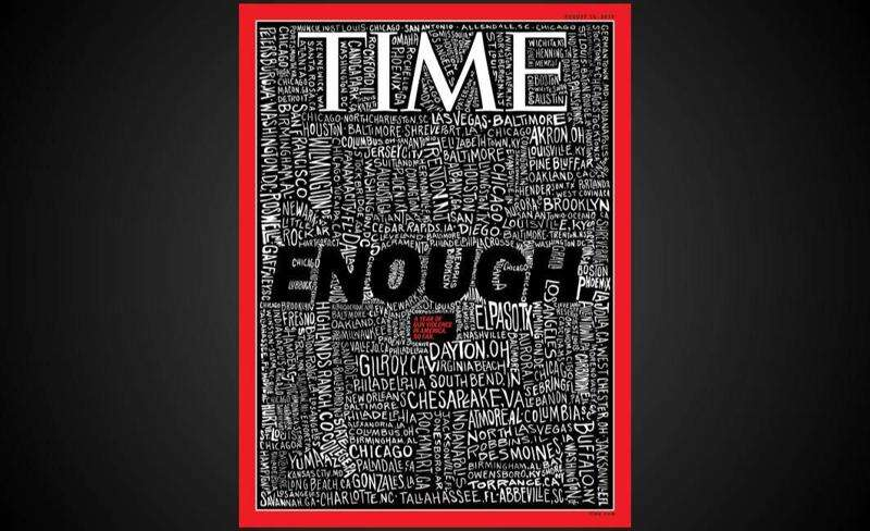 Why are Cedar Rapids and Des Moines on the cover of Time? Shootings