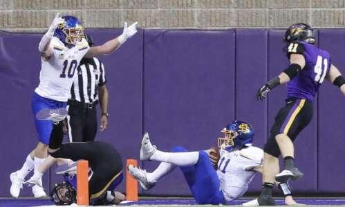 UNI football falls to South Dakota State in spring season-opener…