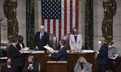 Congress affirms Biden's presidential win following riot at U.S. Capitol