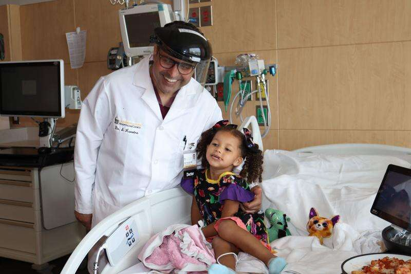 When their doctor moved to Iowa, this Louisiana family followed him to UI Children's Hospital