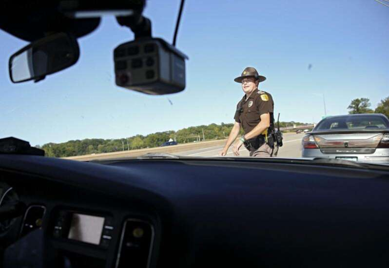 Fewer Iowa State Patrol troopers means less service to Iowans