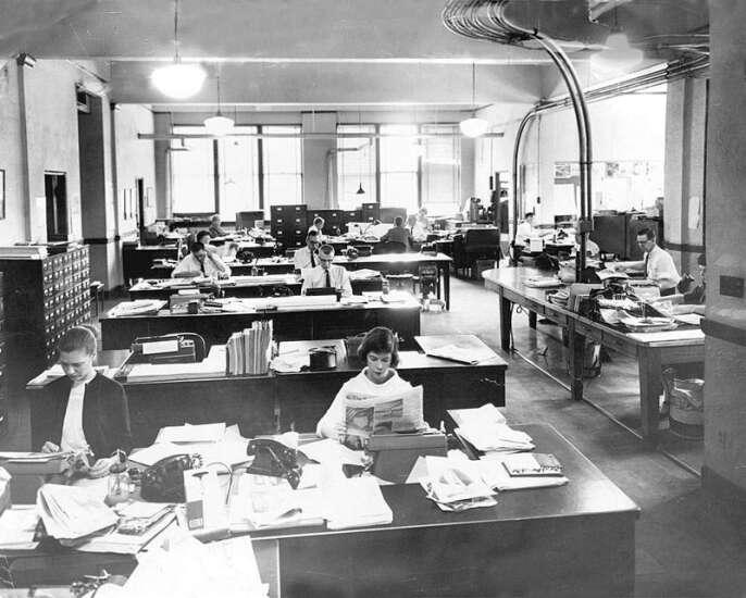 Photos: The Gazette building through the years