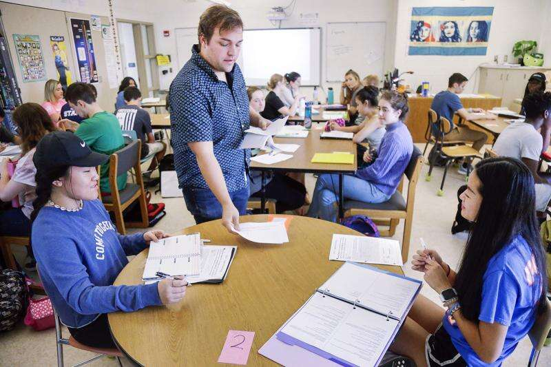How one Iowa high school is teaching more students in Advanced Placement classes