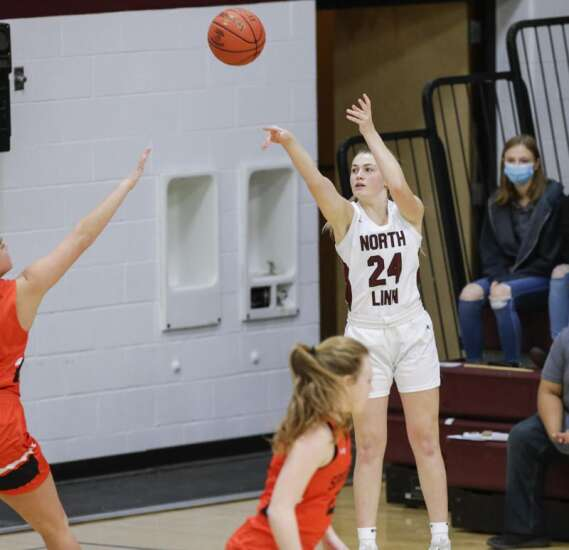 Photos: Springville vs. North Linn, Iowa high school girls' basketball